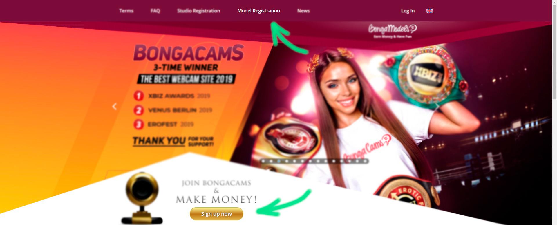 BongaModels-registration