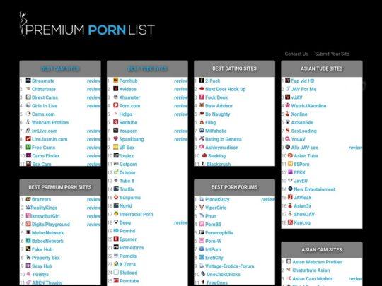 Premium Porn List